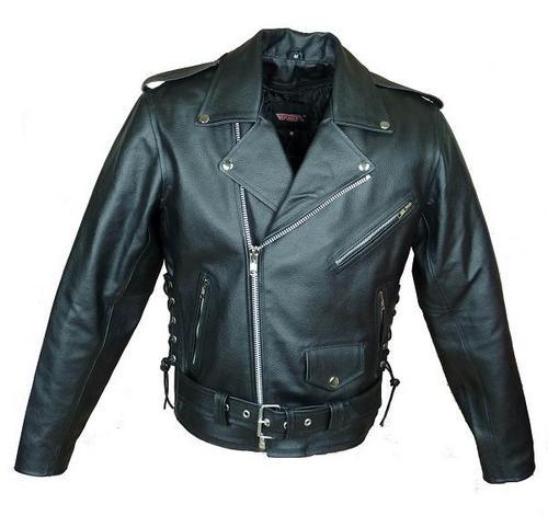 Kožená bunda na motorku krivák 2a8b83a626